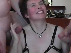 Dutch mom exposed as horny cock loving milf and gangbang hooker