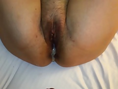 Vacation sex in the hotel room and creampie