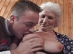 Granny in sex class. Full video
