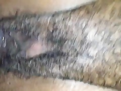 creamy black pussy ready to open with cock