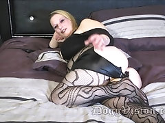 Big Butt Blonde Anal Wife Enjoys Extreme DP