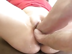huge hole double fisting