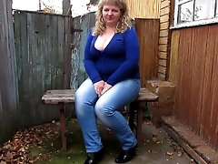 collection of pissing mature woman