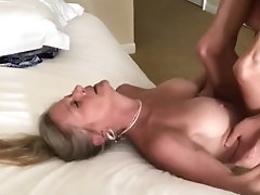 Big tits mature milf passionate sex tape
