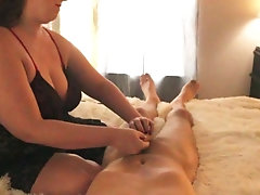 Mistress Summer ruins slave TWICE and talks about making him a cuckold.