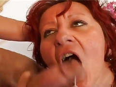 Foxy Mommy plays with her stepson