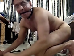 Gay Indian Slave again on Cam