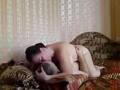 married couple in bedroom hidden shooting