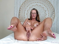 French Manicure Anal Fingering by Jess Ruan