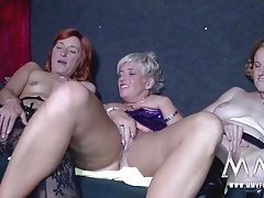 MMV FILMS All Aged Lesbian Threesome