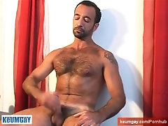 Full video : Kamal mature straight guy serviced by us in spite of him !
