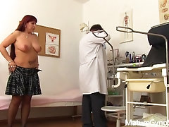Freaky doctor secretly films his female patient with hidden cam