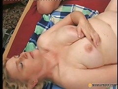 Mature lady fucked by horny student