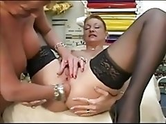 ftw beautiful mature french ladies fist one another