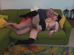 Amateur mature mothers get rough fuck