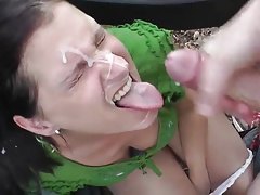 load milf's face