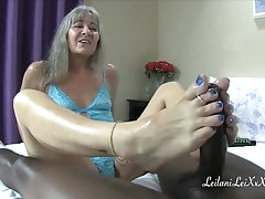 Blue Toes Foot Job TRAILER