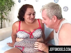 Charming Mature Latina BBW Rosa Diez Gets Finger Fucked and Pounded Hard