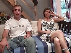 Amateur French couple having sex in front of our camera