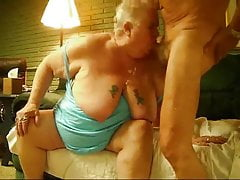 Fat Old Granny sucking
