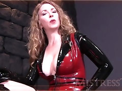 Mistress T - Pulled by balls