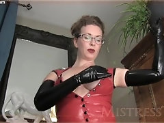 Mistress T - Worship latex goddess
