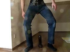 Blusenstute Mario Woltmann gay blouse corset anal dildo ride ass to mouth
