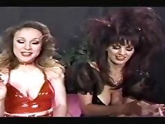 80s sluts smoke together