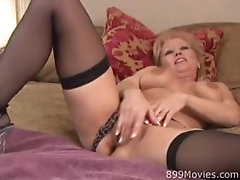 Giltf - Horny mature gilf loves big cock