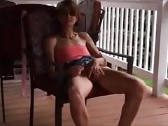 The good shameless wife shows the delicious pussy