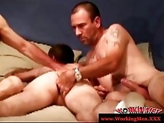 Hairy mature group finger dudes ass