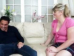 British chubby mature lady fucking and sucking