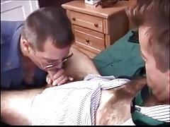 Cop and Business man get nasty