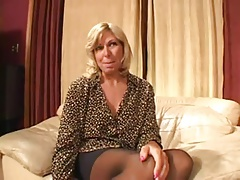 Casting Hot Blonde Mature - Anal Fuck