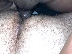 Hairy otter taking BBC