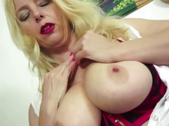 Busty mature MILF with perfect body