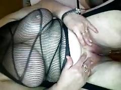 Mature Mom Pissing Over Her Sonn