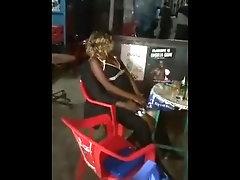Fucking a drunk in d bar