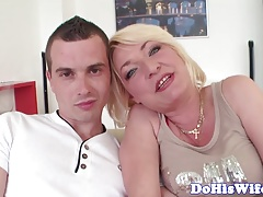 Cuckolding mature wife gets fucked by bbc