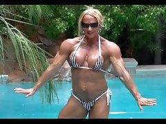 Shawna Strong beauty, shiny body and boobs.