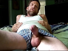 Cock out of my boxers