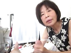 Ace mature Japanese cocksucker