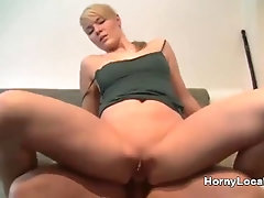 Homemade stunning blonde first time anal fuck