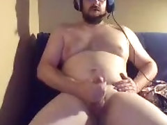 Frank Newbie Spanker: Shaved Cock. Talks You Through a Quickie With Him
