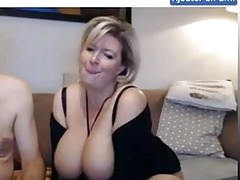 Mature French Couple with big boobs