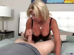 Naughty milf POV blowjob