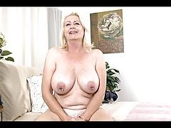 Older Blonde does interview