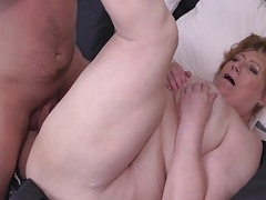 Mature BBW mom Tamara suck and fuck lucky son