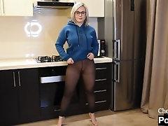 SEXY TRANSPARENT LEGGINGS
