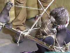 Terra Mizu Nose Hooked and Hogtied